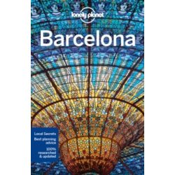 Barcelona útikönyv Lonely Planet  2016