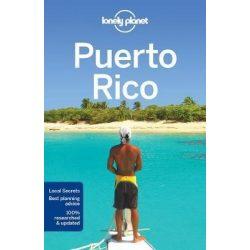 Puerto Rico útikönyv Lonely Planet  2017