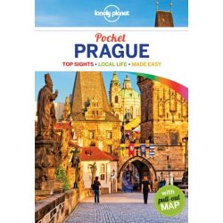 Prága útikönyv Prague Pocket Lonely Planet  2017