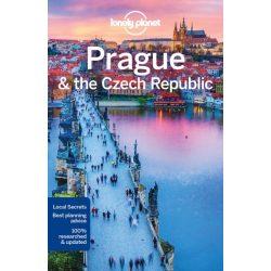 Prága útikönyv Prague Lonely Planet  2017