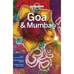 Goa & Mumbai Lonely Planet Goa útikönyv India 2019
