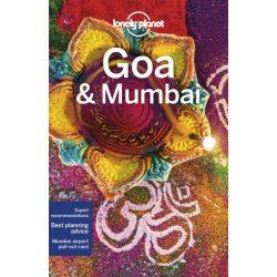 Goa & Mumbai Lonely Planet Goa útikönyv India 2019