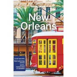 New Orleans útikönyv Lonely Planet  2018