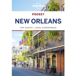 New Orleans útikönyv Lonely Planet Pocket Guide 2018