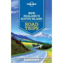 Road Trips New Zealand's South Island Lonely Planet Új-Zéland útikönyv 2018 angol