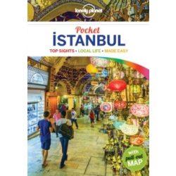 Istanbul Pocket Lonely Planet Isztambul útikönyv   2017