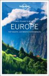 Europe Lonely Planet, Best of Europe, Európa útikönyv angol 2017
