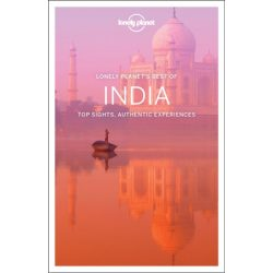India útikönyv Best of India Lonely Planet  2017