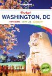 Washington DC útikönyv Pocket Lonely Planet  2017