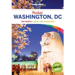 Washington DC útikönyv Pocket Lonely Planet  2017