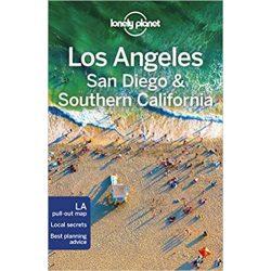 Los Angeles útikönyv, Los Angeles, San Diego Southern California Lonely Planet útikönyv 2018