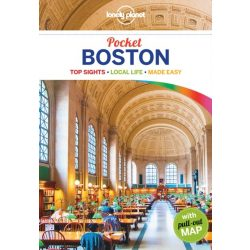 Boston Pocket Lonely Planet útikönyv USA 2017