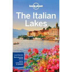 Italian Lakes Lonely Planet útikönyv 2018  Olasz tavak útikönyv