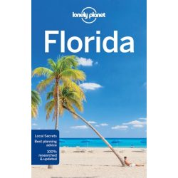 Florida útikönyv, Florida Lonely Planet Guide 2018