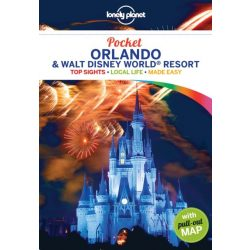 Orlando & Walt Disney World Resort Pocket Lonely Planet útikönyv, Orlando útikönyv  2018