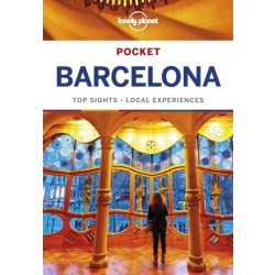 Barcelona útikönyv Pocket Lonely Planet Guide 2018
