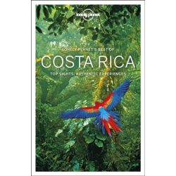 Costa Rica útikönyv Best of Costa Rica Lonely Planet 2018