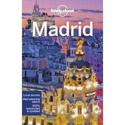 Madrid útikönyv Lonely Planet 2019
