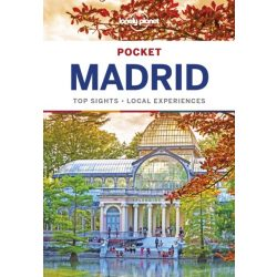 Madrid útikönyv Pocket Lonely Planet 2018