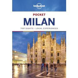 Milan & Lakes Pocket Lonely Planet - Milánó útikönyv 2018