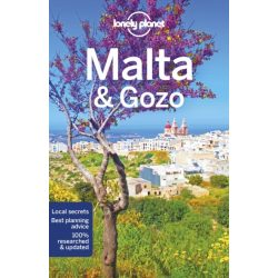 Malta & Gozo útikönyv  Lonely Planet,  Málta útikönyv angol 2019