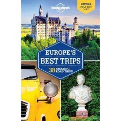 Europe's Best Trips Lonely Planet, Európa útikönyv 2017