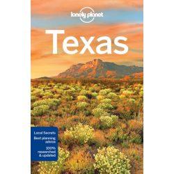 Texas útikönyv Lonely Planet 2018