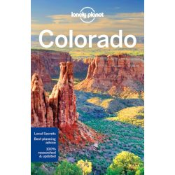 Colorado útikönyv Lonely Planet 2018