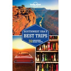 Southwest USA's Best Trips Lonely Planet USA útikönyv 2018 angol