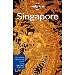 Singapore Szingapúr útikönyv Lonely Planet 2018