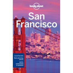 San Francisco útikönyv Lonely Planet 2017