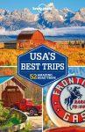 USA's Best Trips Lonely Planet USA útikönyv 2018 angol