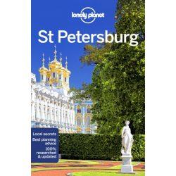 St Petersburg Lonely Planet Guide 2018 Szentpétervár útikönyv