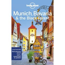 Munich útikönyv Lonely Planet, Munich Bavaria Black Forest München útikönyv 2019 angol