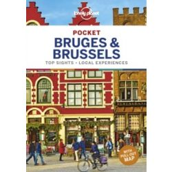 Brussels útikönyv Bruges & Brussels Pocket Lonely Planet útikönyv  Brüsszel útikönyv 2019