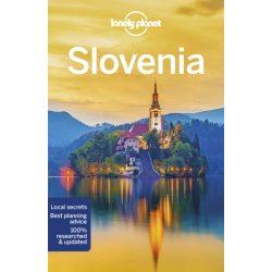 Slovenia Lonely Planet Szlovénia útikönyv 2019 angol