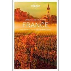 France útikönyv Lonely Planet Best of France, Franciaország útikönyv 2019
