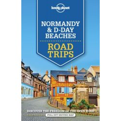 Road Trips Normandy and D-Day Beaches Lonely Planet  2019 Normandia útikönyv angol