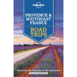 Road Trips Provence and Southeast France Lonely Planet 2019  Provence útikönyv angol