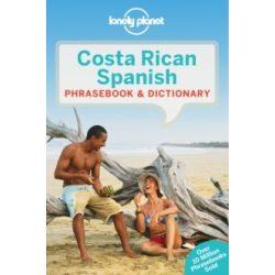 Lonely Planet spanyol szótár Costa Rica Spanish Phrasebook & Dictionary