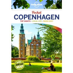 Copenhagen Lonely Planet Guide Pocket Koppenhága útikönyv 2018