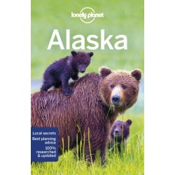 Alaska, Alaszka útikönyv Lonely Planet  USA 2018