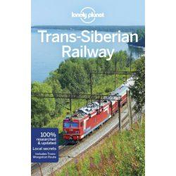 Trans-Siberian Railway  útikönyv Lonely Planet, Transz-Szibéria útikönyv 2018