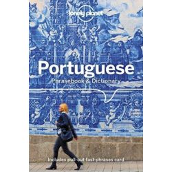Lonely Planet portugál szótár Portuguese Phrasebook & Dictionary 2018