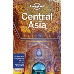 Asia Central Asia  útikönyv Lonely Planet 2018