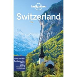 Switzerland útikönyv Lonely Planet Svájc útikönyv 2018
