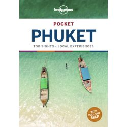 Phuket Lonely Planet Pocket Guide 2019 Phuket útikönyv angol