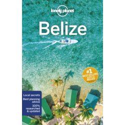 Belize útikönyv Lonely Planet 2019 angol