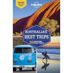 Australia's Best Trips útikönyv Lonely Planet Ausztrália útikönyv 2019 angol