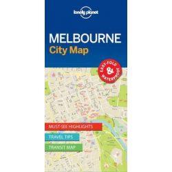 Melbourne térkép Lonely Planet City Map vízálló 1:12 500
